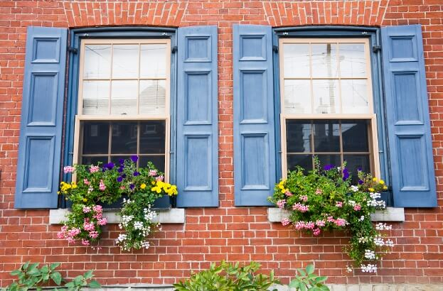 Make Windows Look Bigger With Shutters