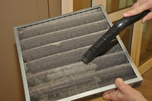 Clean and or Change HVAC Filters Regularly