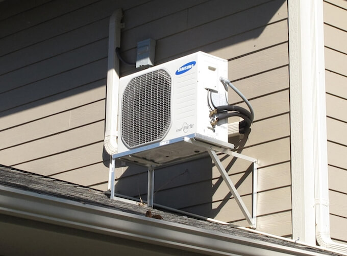 Small Heating And Cooling Units : Mini split ac system cost installation