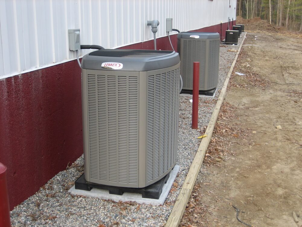 Average cost to replace a heat pump system