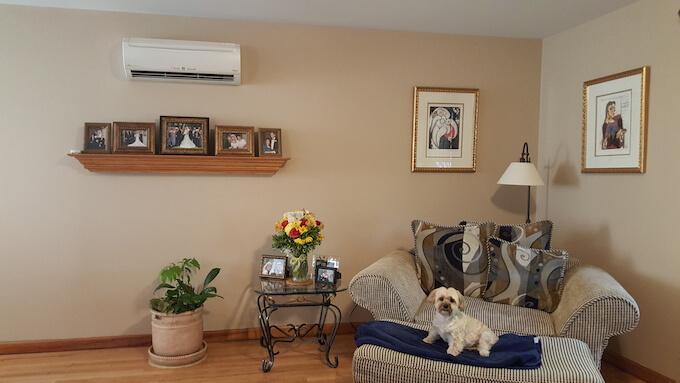 Apartment Air Conditioner Installation