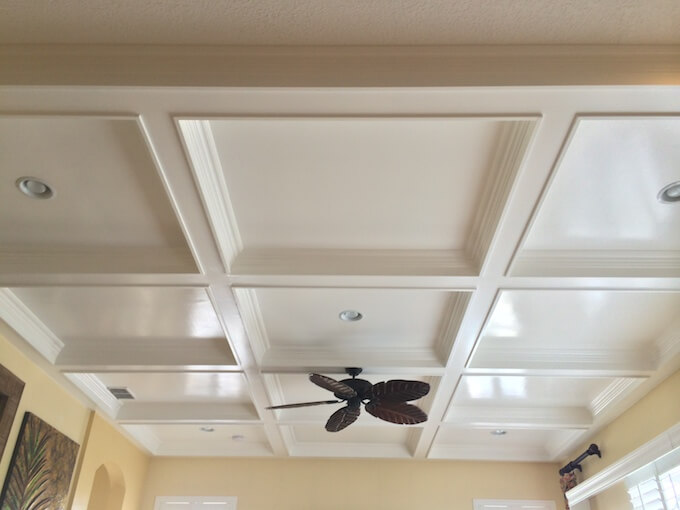 2017 cost of coffered ceilings what is a coffered ceiling for Average cost of coffered ceiling