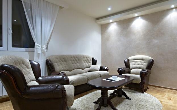 Relaxing Rustic Living Room