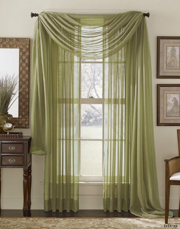 Seasonal Window Treatments