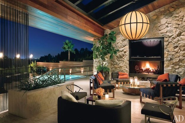 Jennifer Aniston's Patio