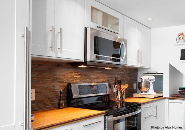 Small Kitchen Storage- Wall Studs