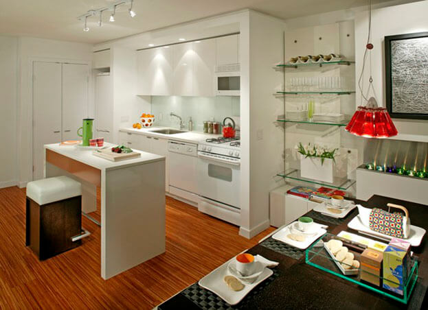 Small Kitchens White