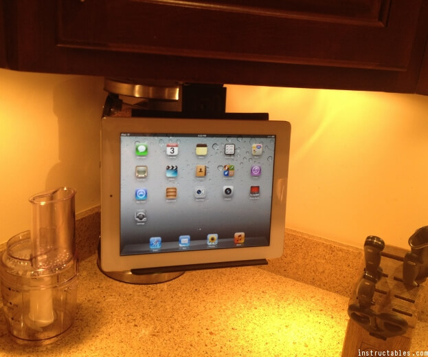 Cabinet Mount Tablet