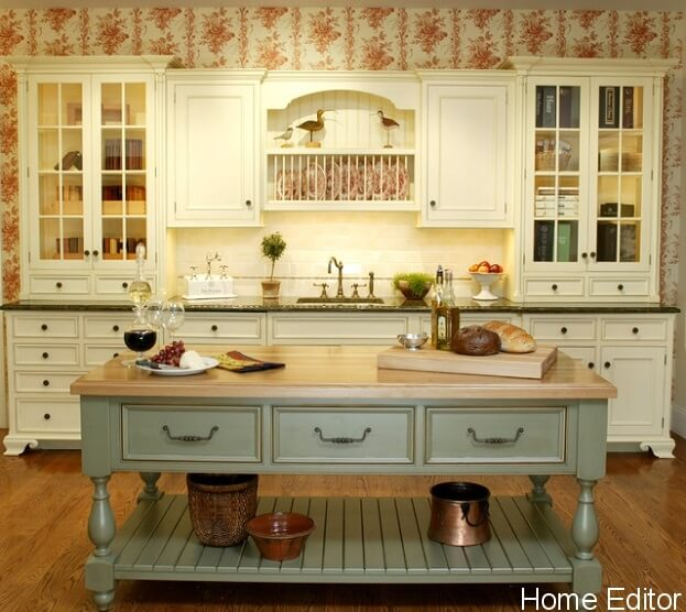 20 Ways To Create A French Country Kitchen: 6 Affordable Ways To Create A Shabby Chic Kitchen