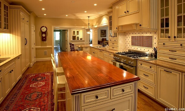 Cherry Wood Countertops