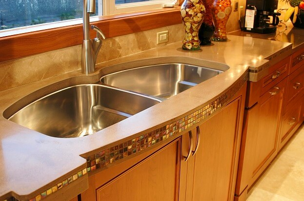 how to clear kitchen sink