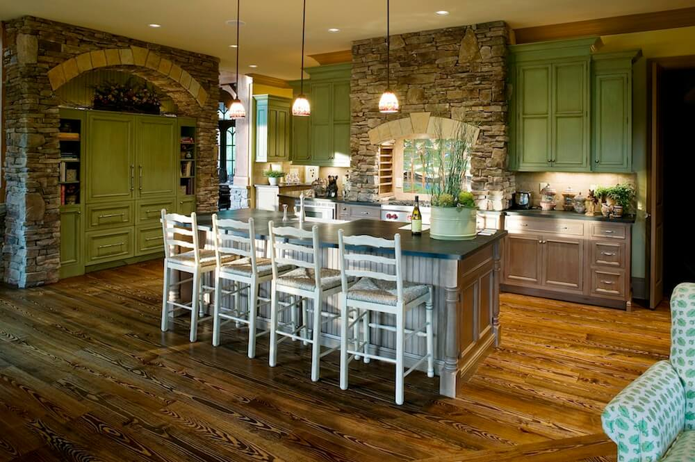 2017 kitchen remodel cost estimator average kitchen for Best kitchen floors 2016