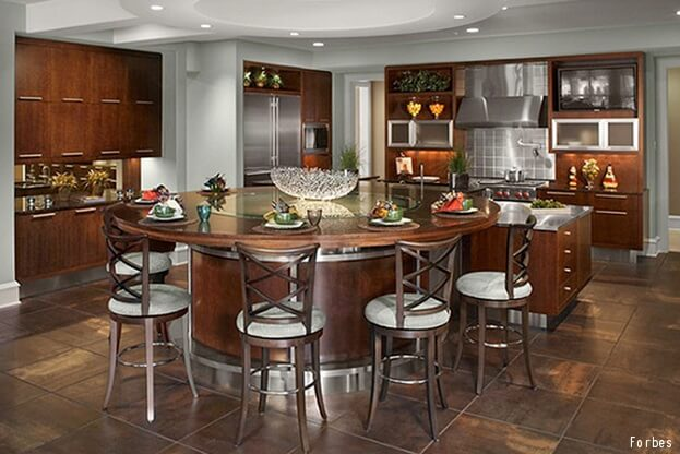 LeBron James Kitchen