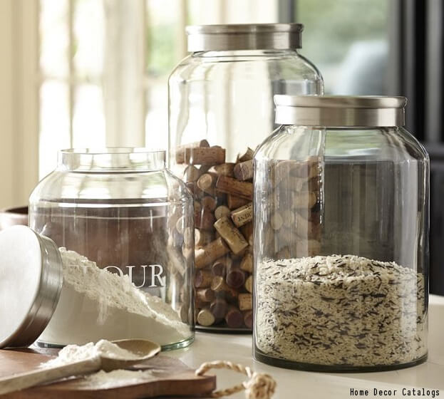 8 kitchen bath space savers worth trying storage for Kitchen jar ideas