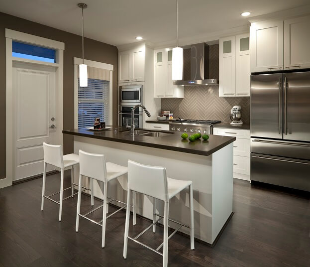 white cabinets - Kitchen Trends