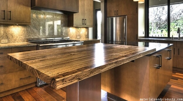 Zebra Wood Countertops