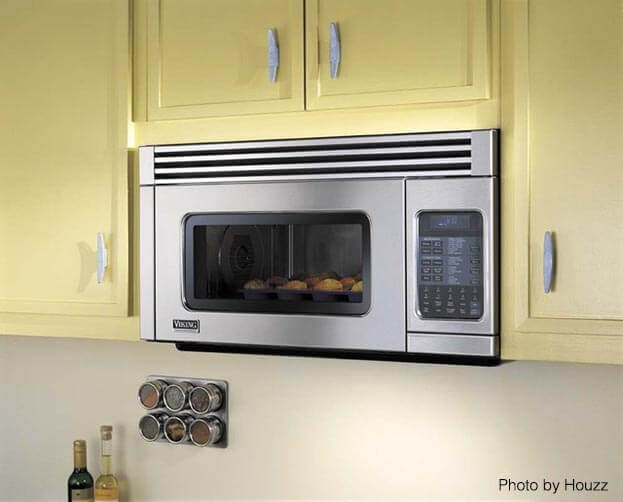 5 space saving appliances small kitchen owners need - Small space microwave photos ...