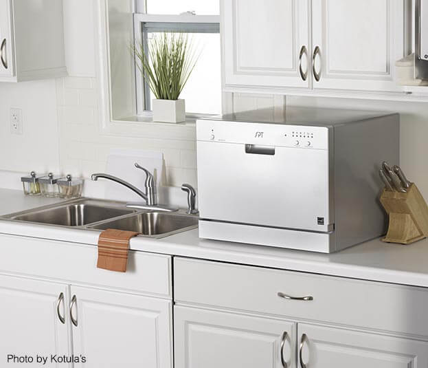 Compact Kitchen Appliances - Countertop Dishwasher