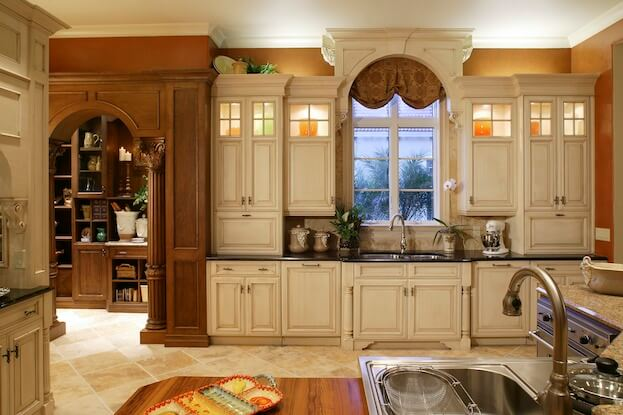 How much do kitchen cabinets cost cost of kitchen remodel for Cost to refinish cabinets