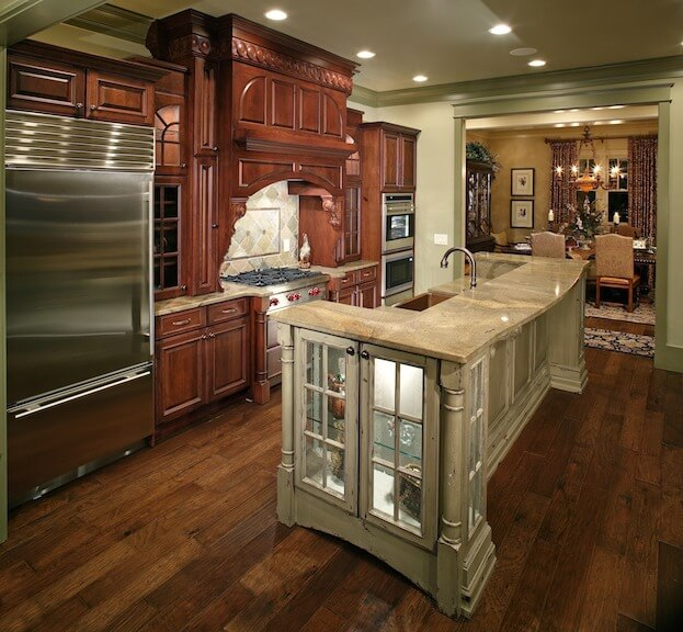 lovely Kitchen Cabinets Installation Price #4: Cabinet Refinishing