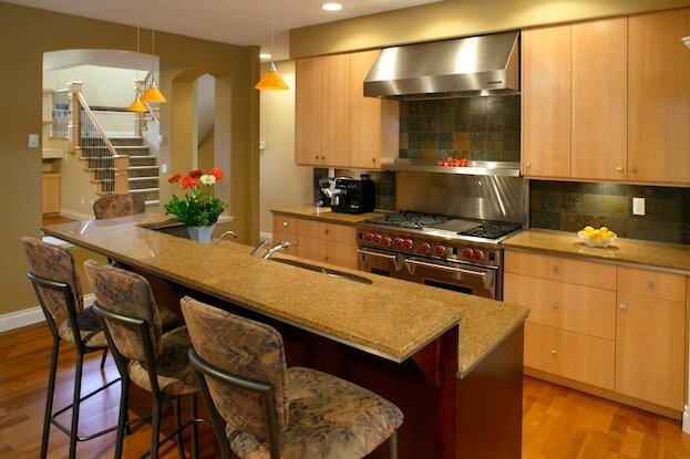 Multi Level Kitchen Island Ideas
