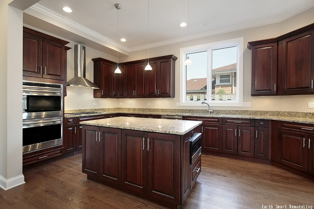 Kitchen cabinet finishes best finish for kitchen cabinets for Best way to stain kitchen cabinets