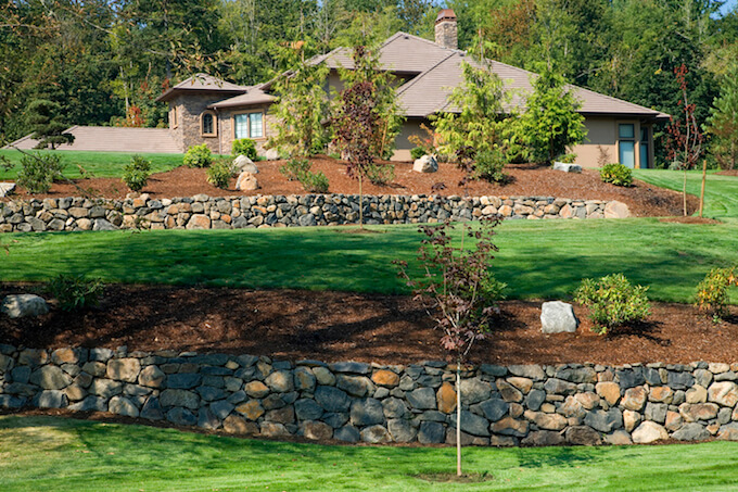 Prices On Landscaping Bricks : Retaining wall cost to build a