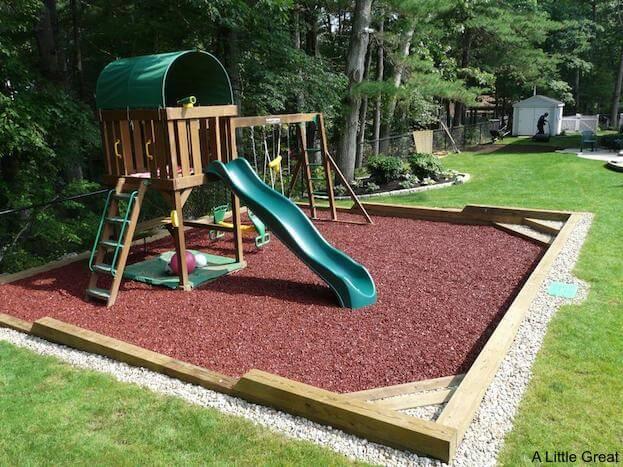 Playground Timbers