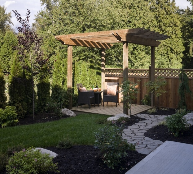 Pergolas For Partial Shade