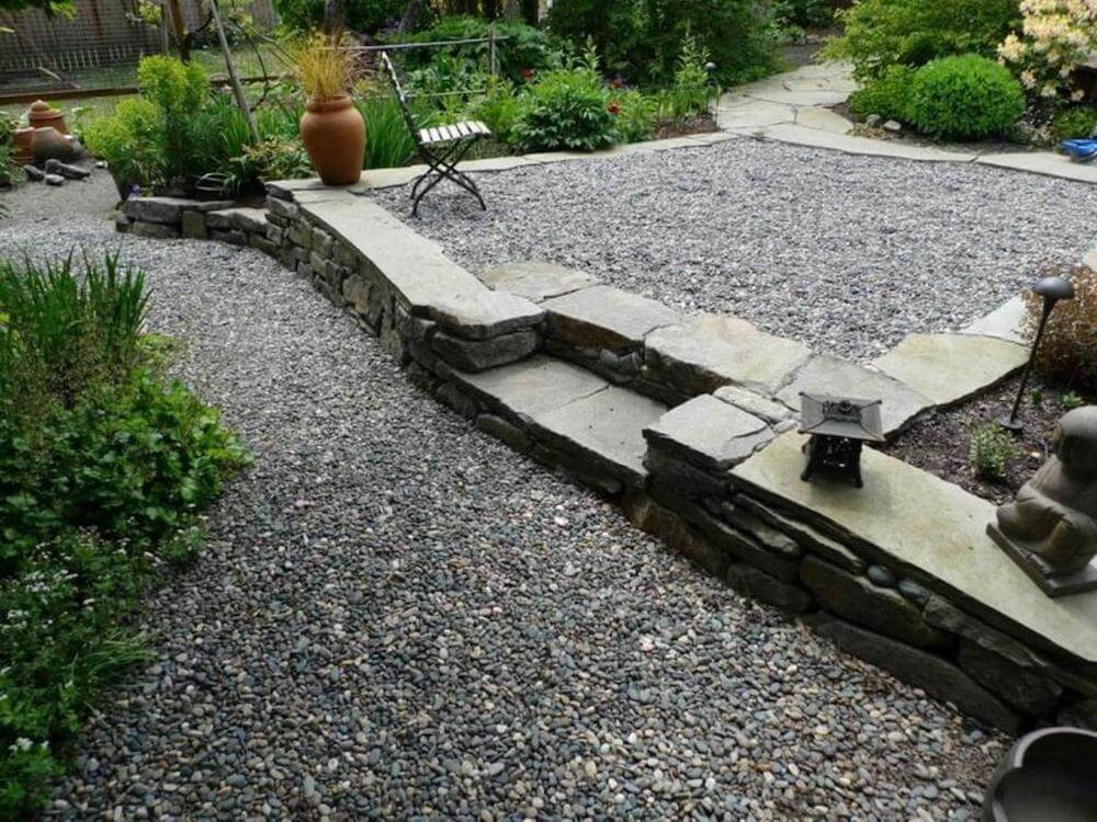 2017 pea gravel cost per ton how much does pea gravel cost for Landscaping rocks by the ton