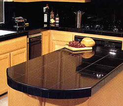 black kitchen granite countertops. Interior Design Ideas. Home Design Ideas
