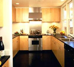 laminate kitchen flooring - Laminate Flooring In A Kitchen