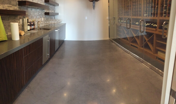 2017 polished concrete floors cost concrete polishing for How to clean polished floors