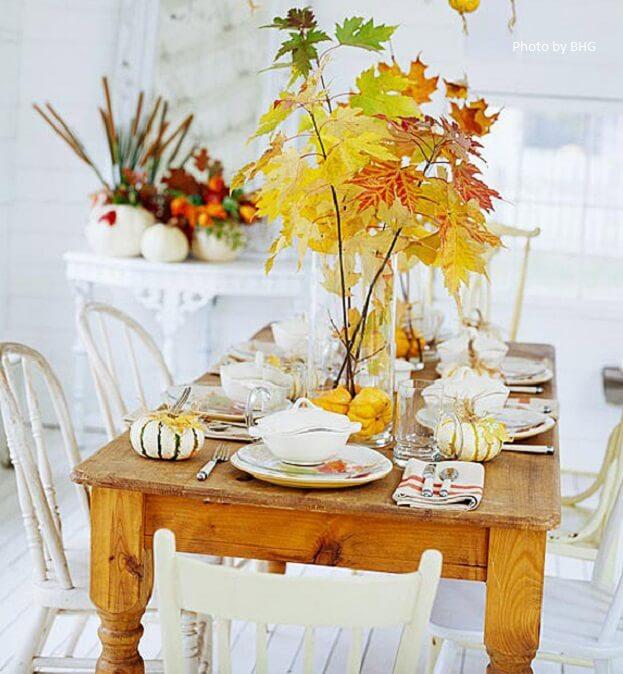 Thanksgiving table décor ideas decor