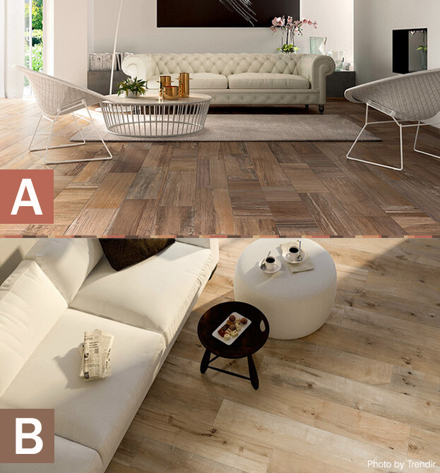 Faux Wood Tile: A or B - The Next Hot Trend In Tile: Faux Wood Tile Wood Tiles