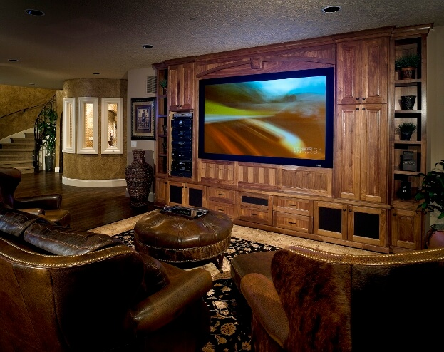Large TV Room