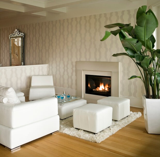 The White Living Room