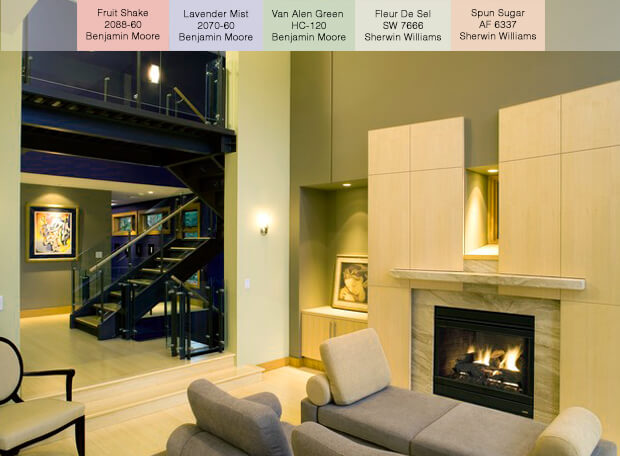Popular Paint Colors For 2014 - Pastel