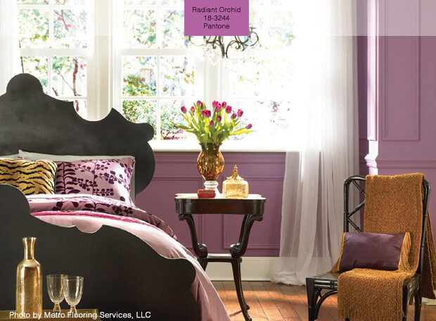 Popular Paint Colors For 2014 Radiant-Orchid
