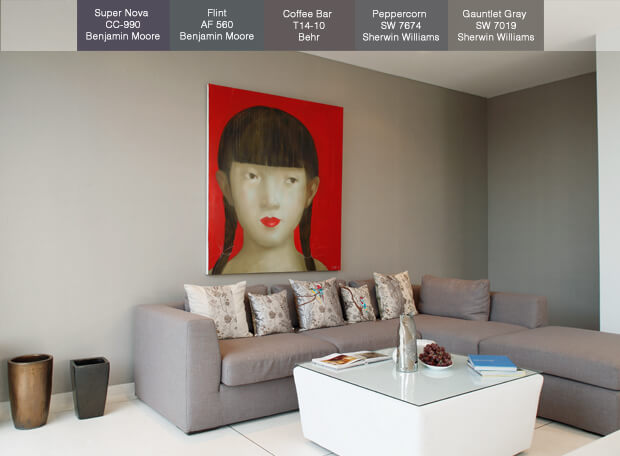 Popular Paint Colors For 2014 - Gray