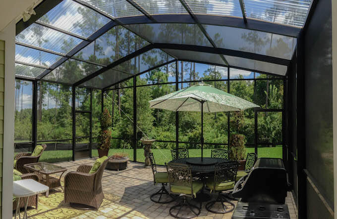 2017 enclosed patio cost patio enclosures prices for Plexiglass pool enclosure