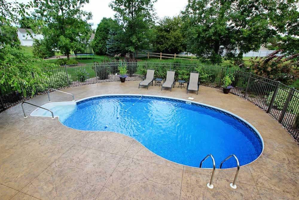 2017 inground pool cost average cost of inground pool for Types of inground pools