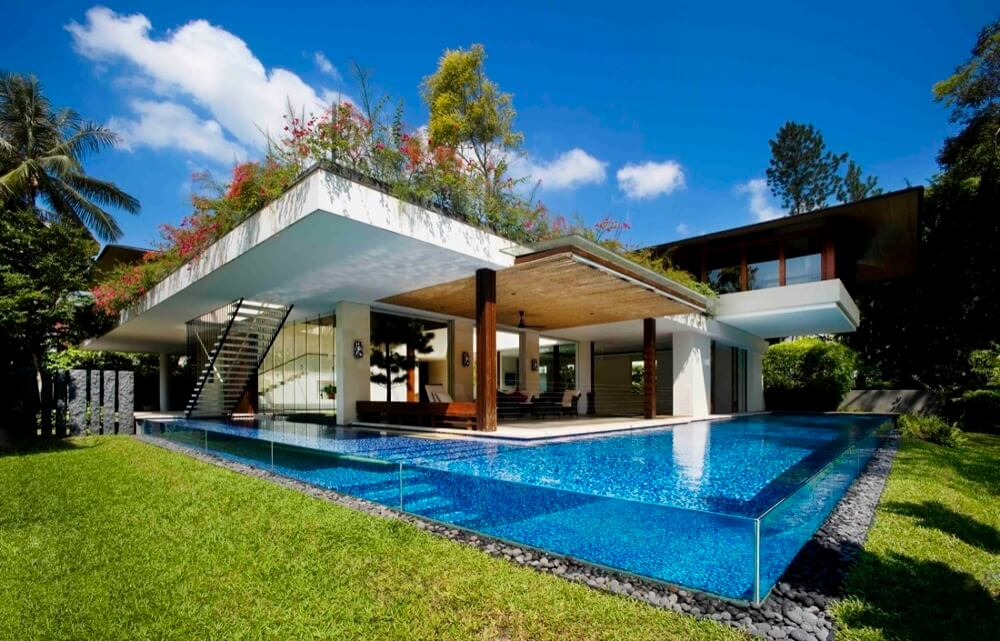 Green Roof On Home