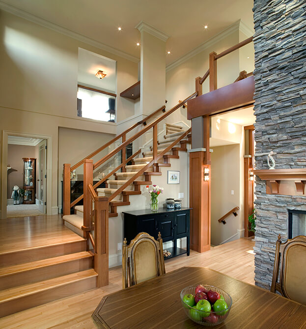 Large Wood Stairs