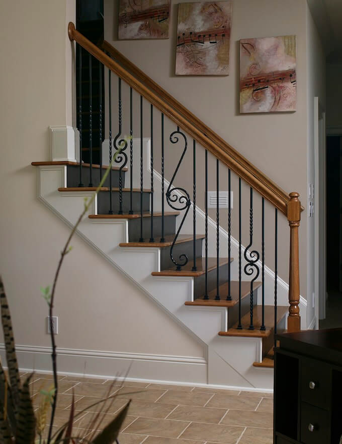 2017 Wood Stairs Installation Cost Repair Wood Stairs