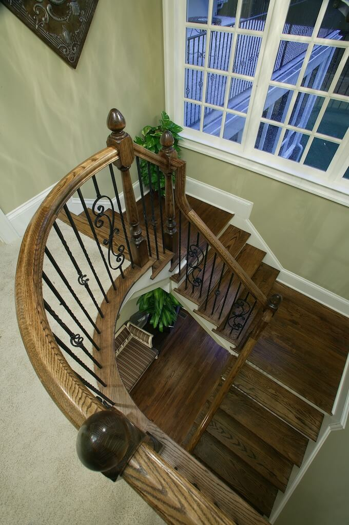 Wood Stairs Railing Cost Considerations