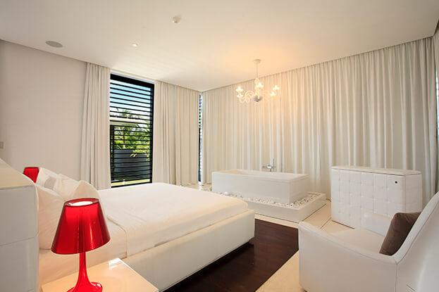 White Bedroom Upholstery