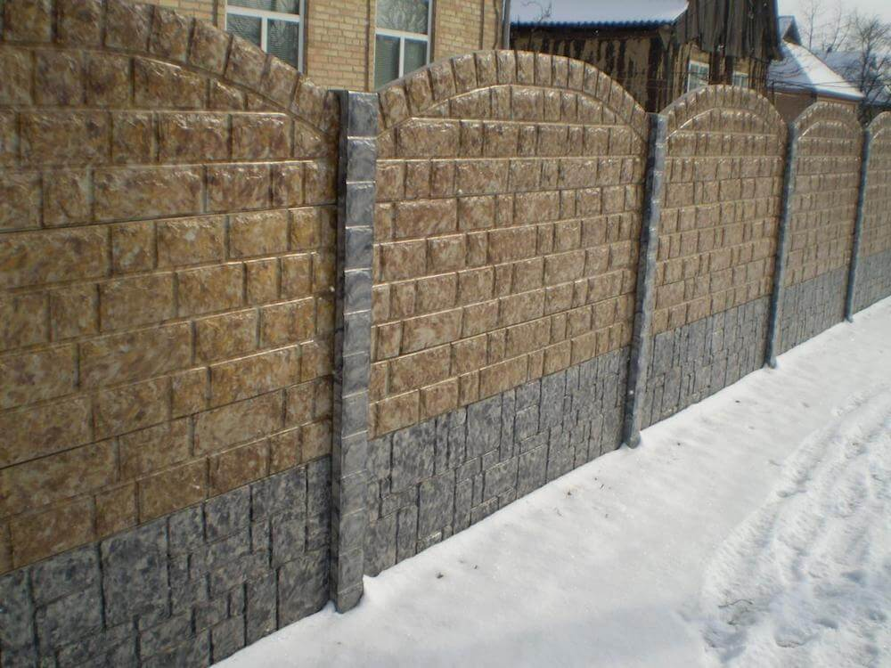 2017 stone wall cost block wall cost for Concrete block walls design