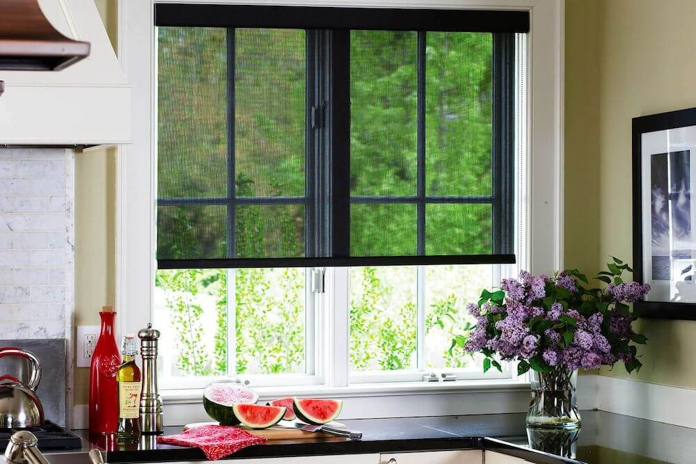2017 solar screens cost solar shades installation cost for Marvin window shades cost