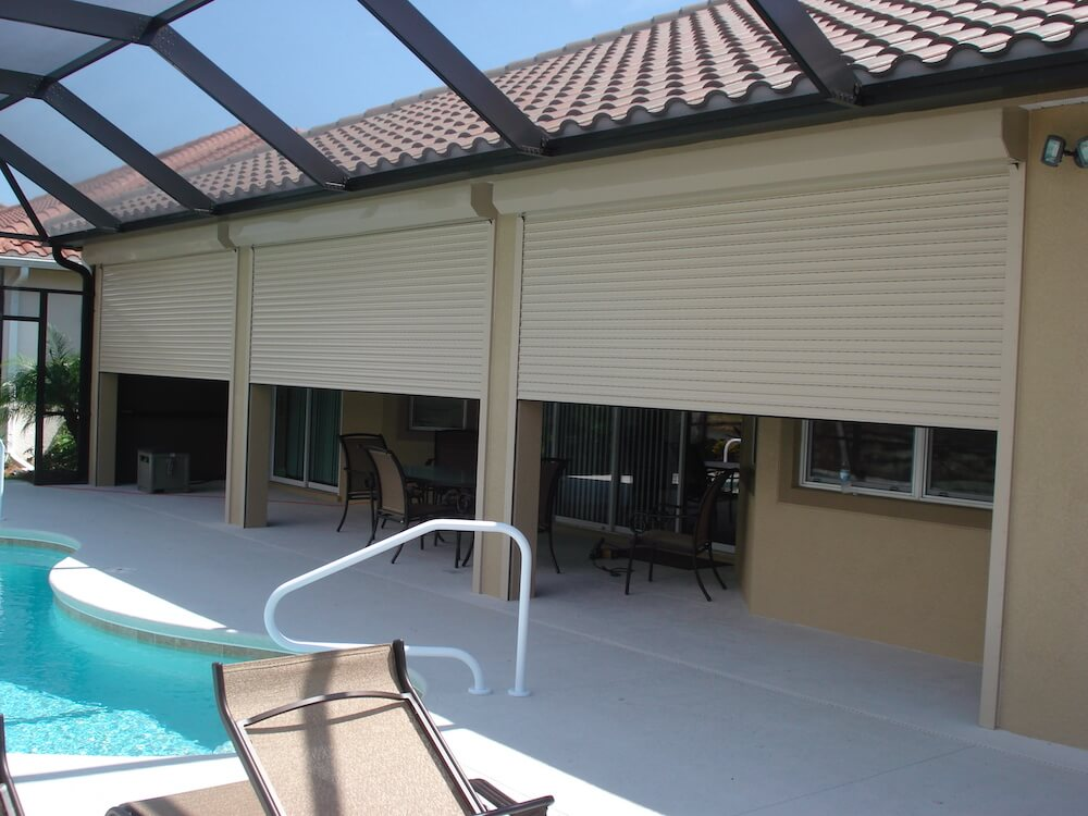 2017 Roll Down Hurricane Shutters Cost Roll Down Shutters